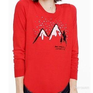 J.CREW Merino wool crew neck light sweater